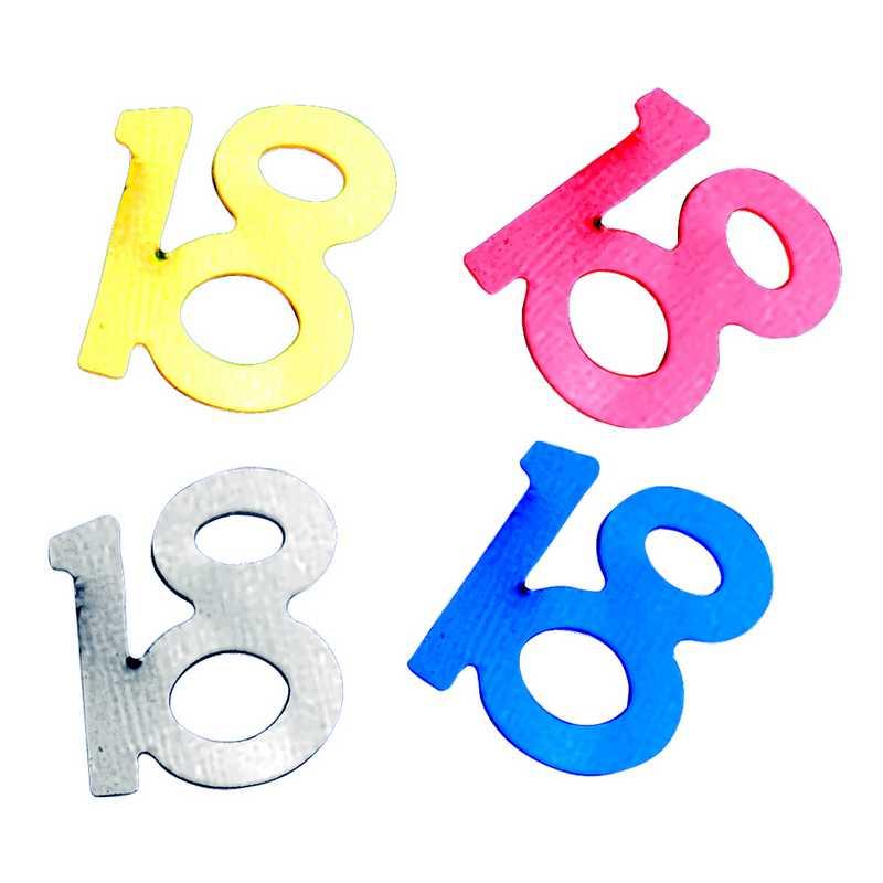 Décors de table N° 18 couleurs assorties en sachet 500 g