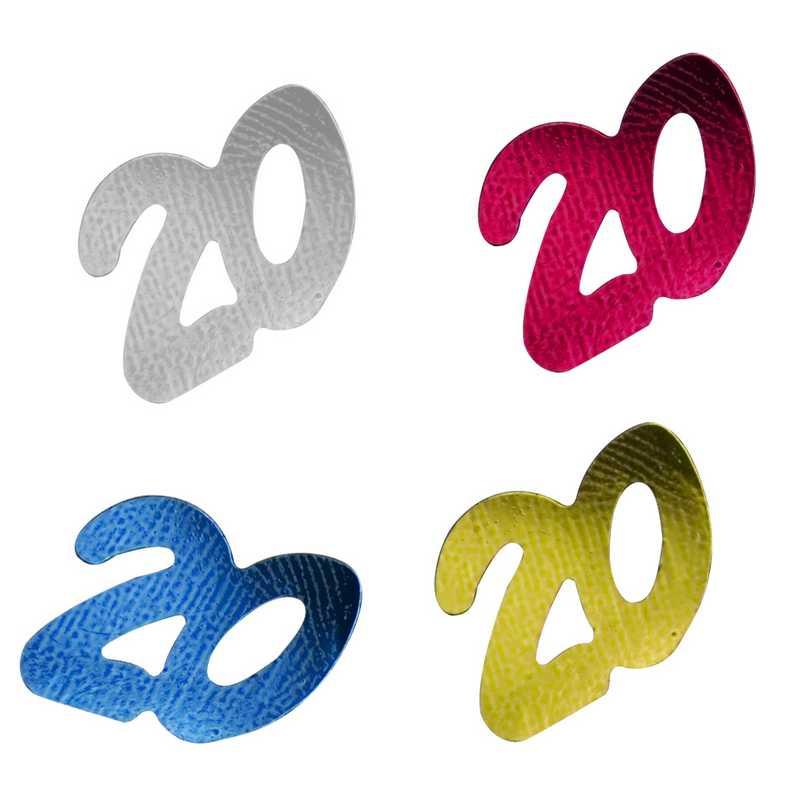 Décors de table N° 20 couleurs assorties en sachet 500 g