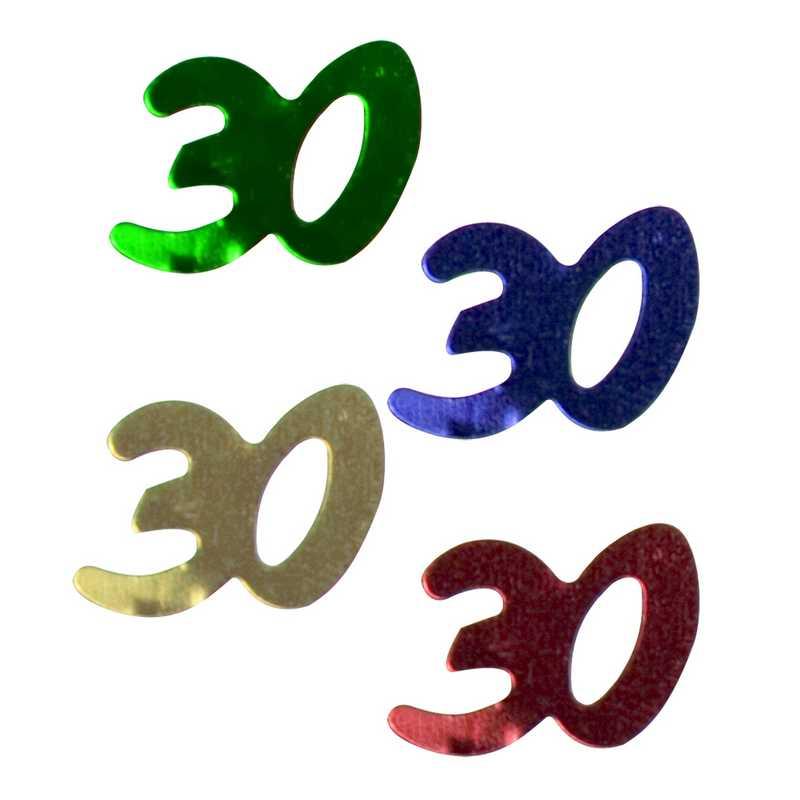 Décors de table N° 30 couleurs assorties en sachet 500 g