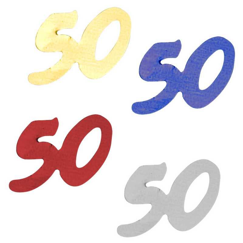 Décors de table N° 50 couleurs assorties sachet de 500 g