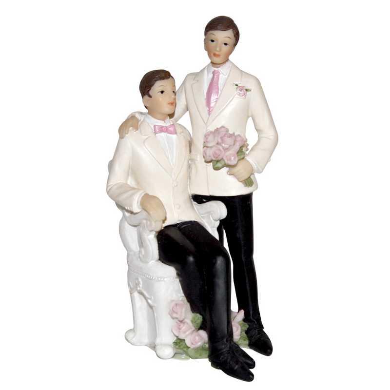 Couple hommes 13 cm - par 6 lots