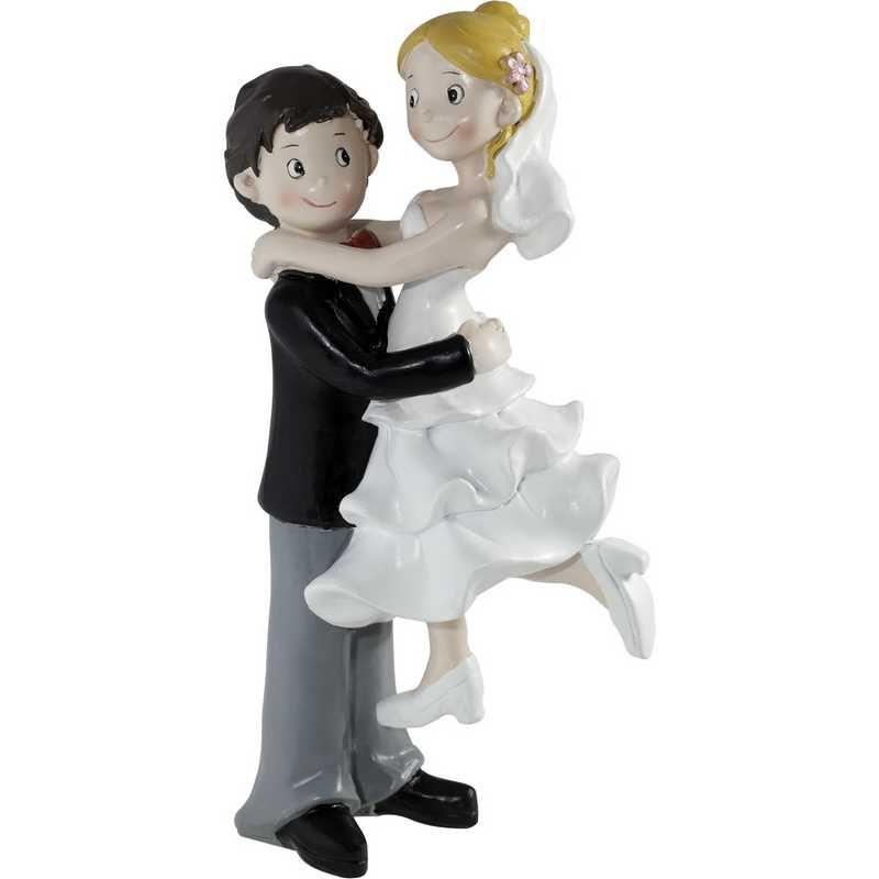 Couple bd amour pour la vie 15,5 x 10 x 7,5 cm - par 6 lots de 1