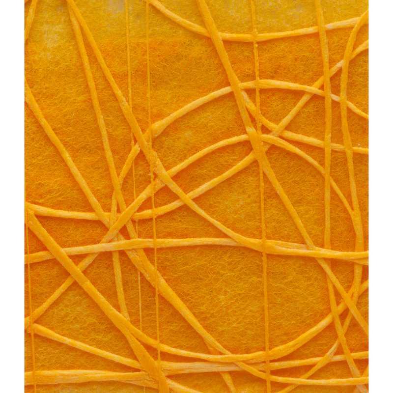 Chemin de table shibuya non-tissé mandarine 30 cm x 5 m - par 5 lots