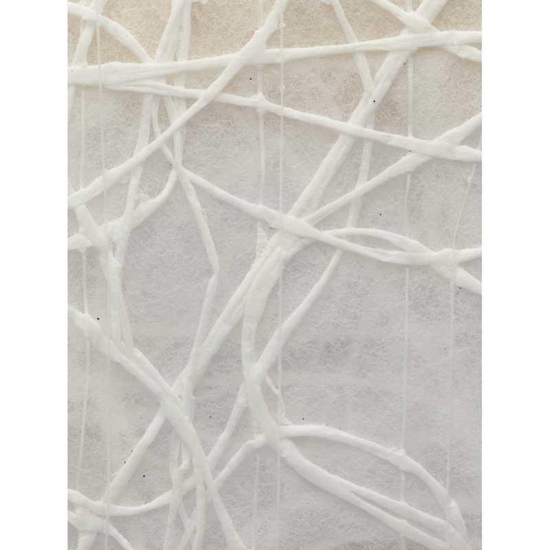 Chemin de table shibuya non-tissé blanc 30 cm x 5 m - par 5 lots