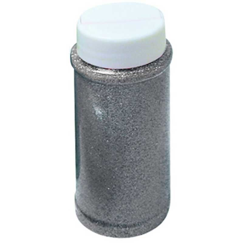 Paillettes argent pot de 150 ml (photo)