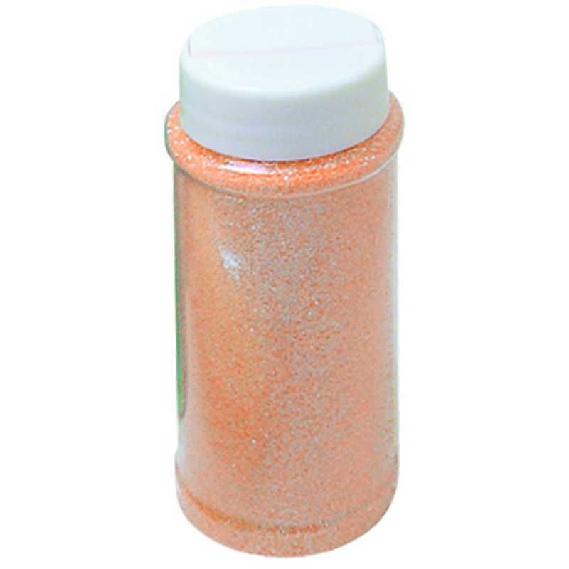 Paillettes orange pot de 150 ml (photo)