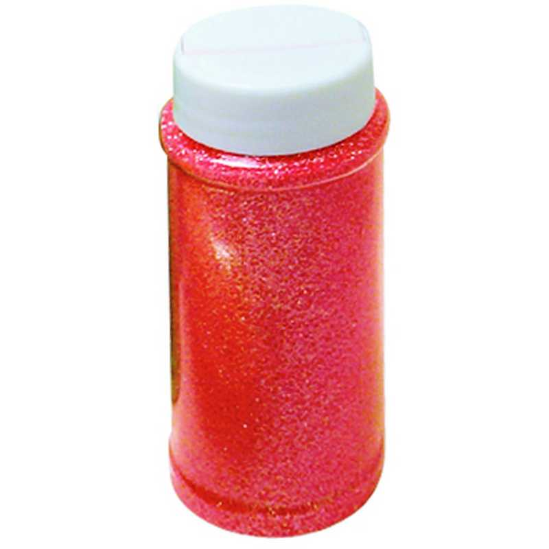 Paillettes rouge pot de 150 ml (photo)
