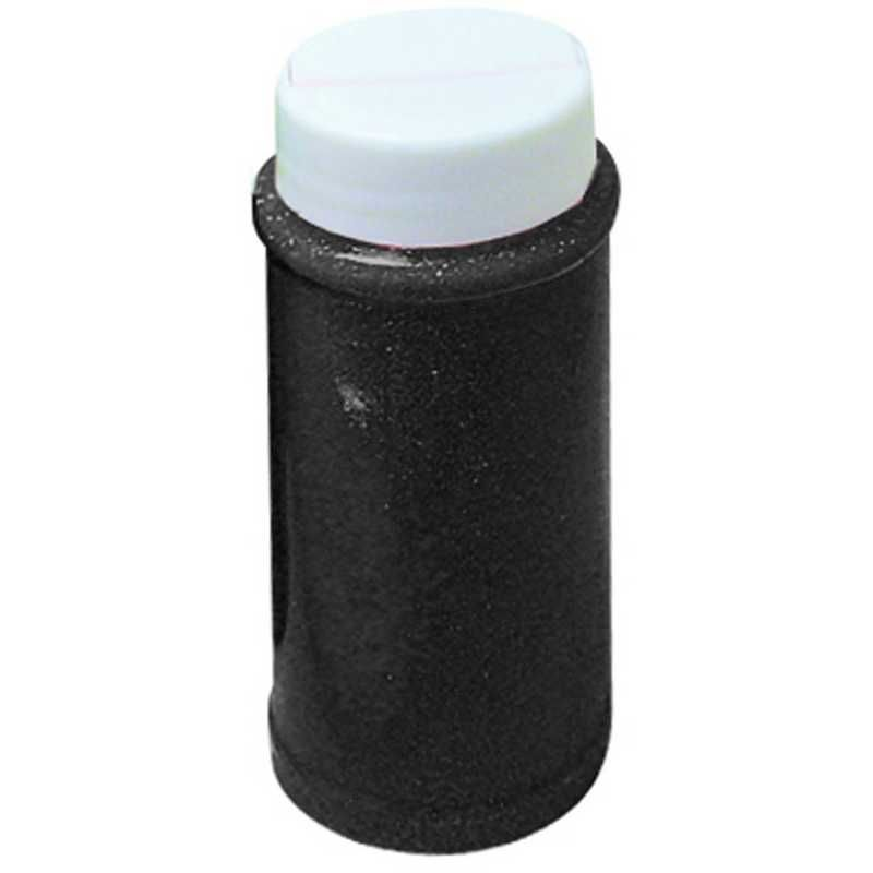 Paillettes noir pot de 150 ml (photo)