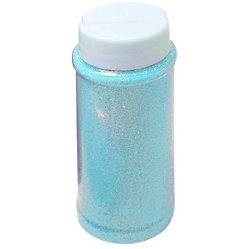 Paillettes turquoise pot de 150 ml (photo)