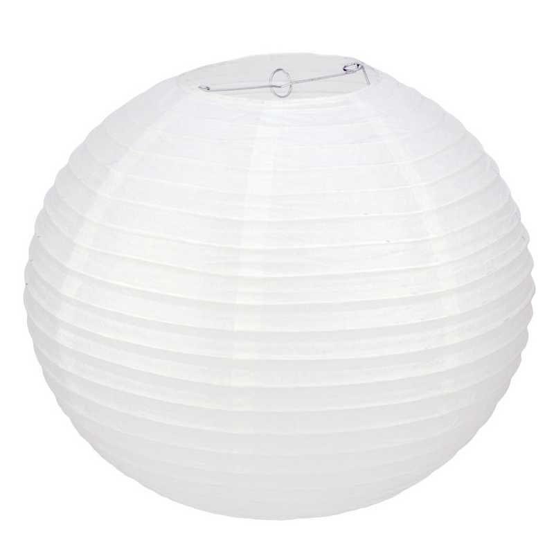 1 lanterne ø 50 cm blanche (photo)