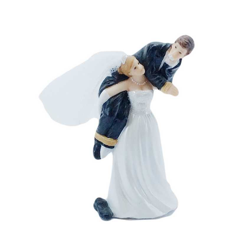Couple de mariés fantaisie viens par là chéri 12,1 x 6,3 x 5 cm - par 6 lots de