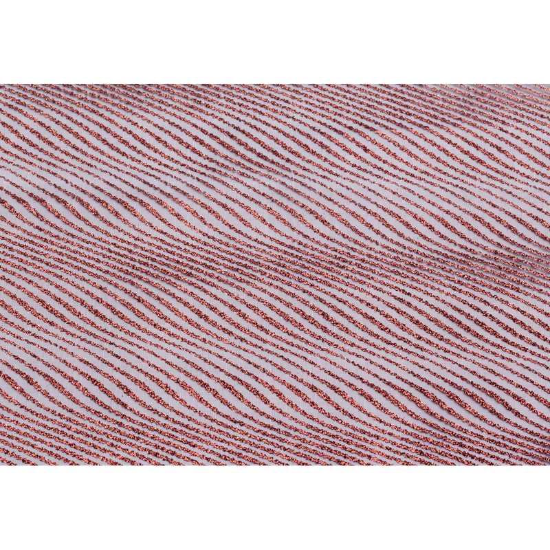 Chemin de table sable organza chocolat pailleté 30 cm x 5 m - par 5 lots