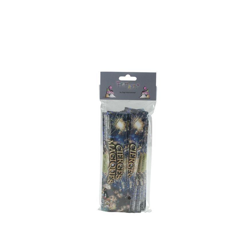 Cierges magiques 18 cm cat 1.4g durée env, 30 - par 5 lots de 100