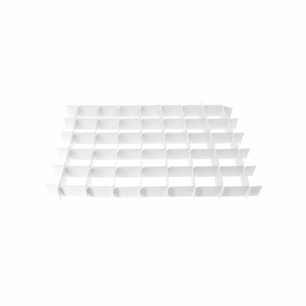 Calages croisillons carton 35 verrines 410x280x35 mm 410x280x35 mm - par 25 (photo)