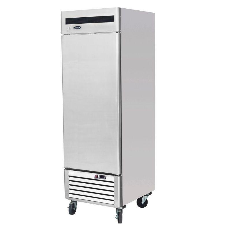 Armoire réfrigérée négative gn 2/1 avec porte pleine sur pieds 610 litres (photo)