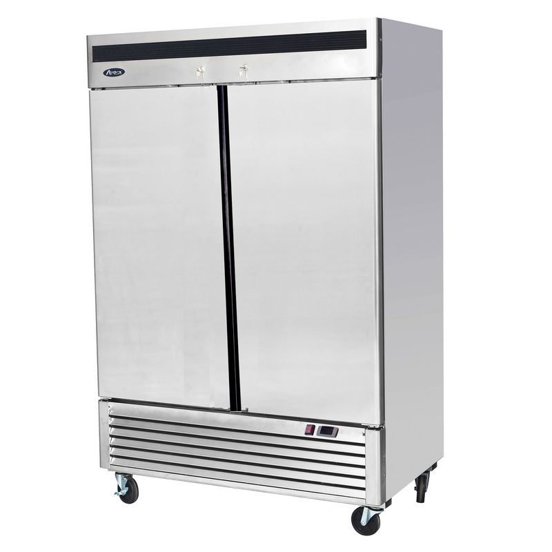 Armoire réfrigérée négative gn 2/1 à double porte sur pieds 1335 litres (photo)