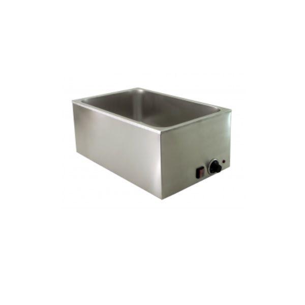 Bain-marie de table inox sans robinet de vidange gn 1/1 (photo)