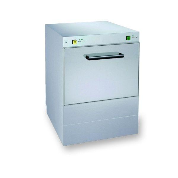 Lave-vaisselle à commandes mécaniques à simple paroi panier 500 x 500 mm