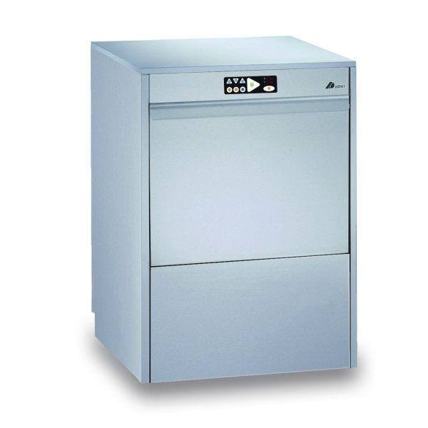 Lave-vaisselle à commandes électroniques à simple paroi panier 500 x 500 mm