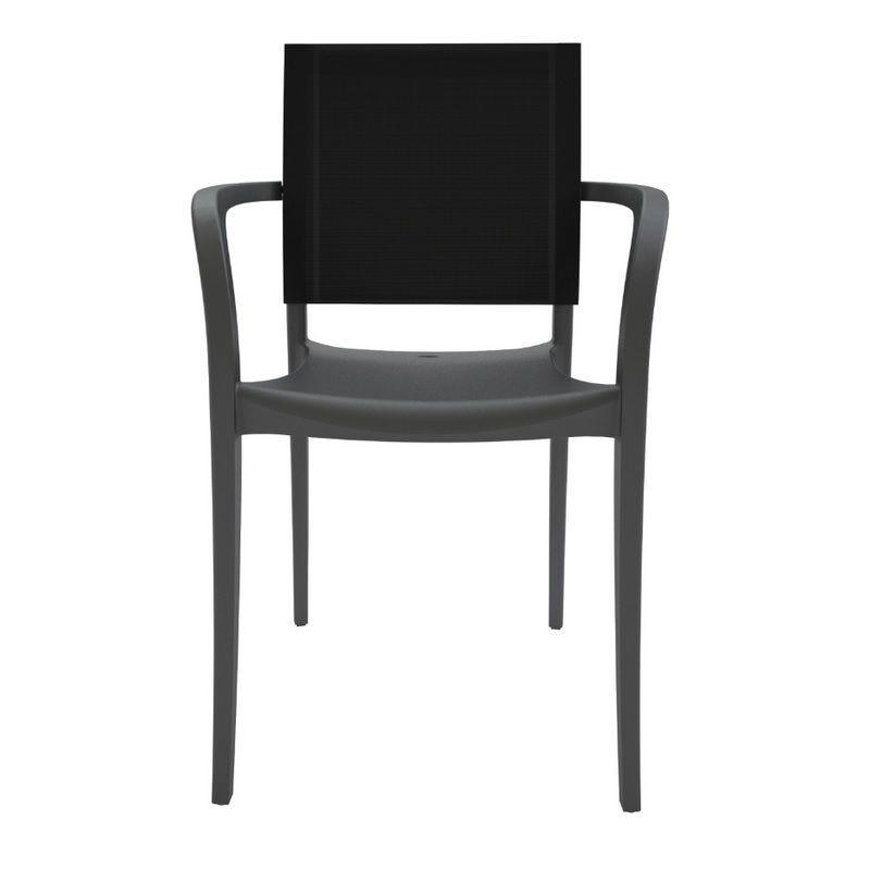 Fauteuil avec assise polypropylène et dossier en polyester grosfillex - par 11