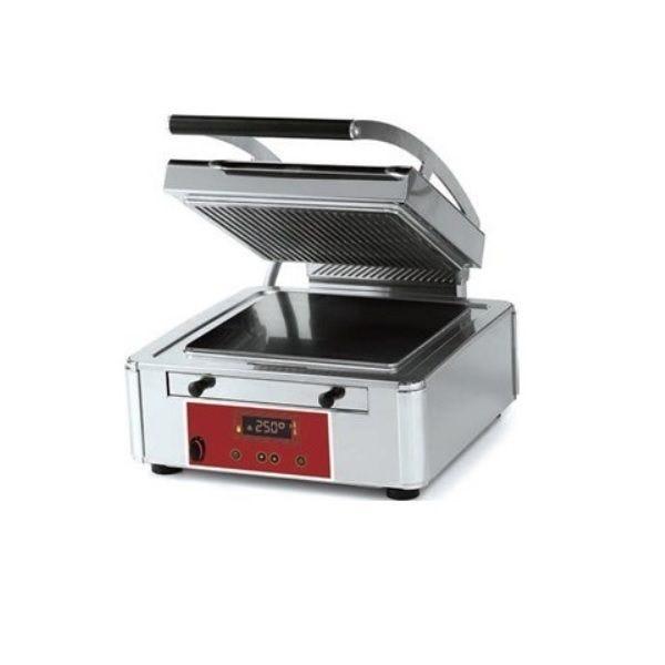 Grill panini plaques«duplex technology> rainurée et lisse – modèle simple (photo)