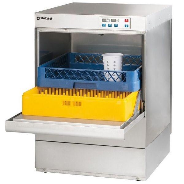 Lave-vaisselle à commande digitale sans pompe vidange pour panier 500 x 500 mm