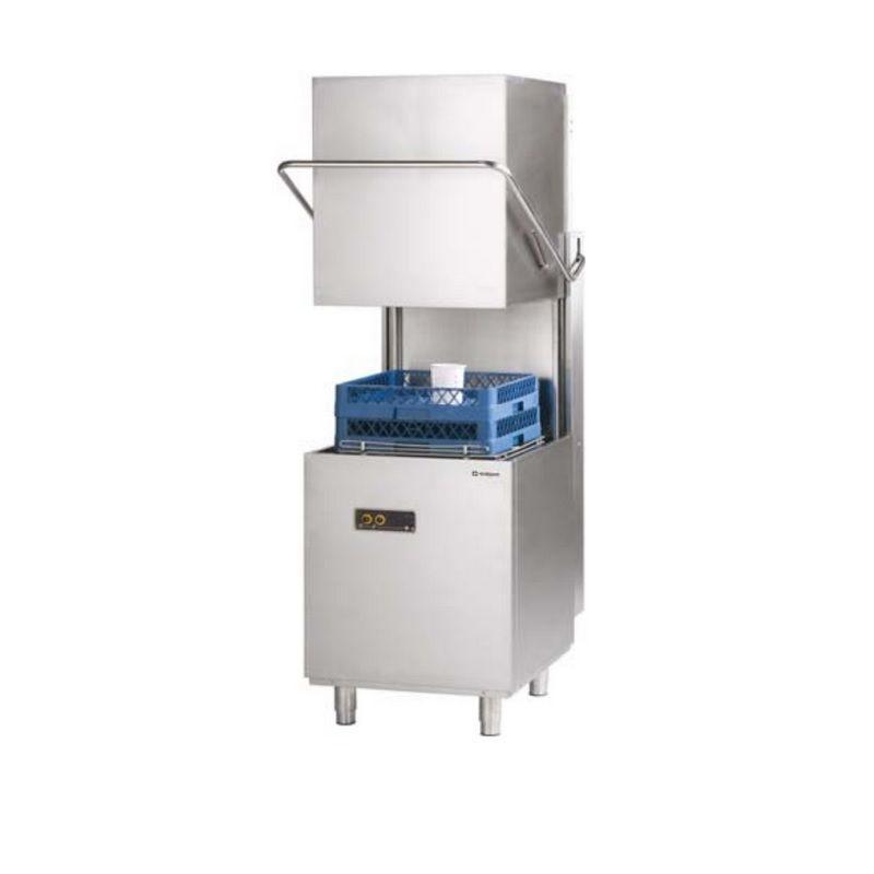 Lave-vaisselle à capot panier 500 x 500 mm avec commandes mécaniques