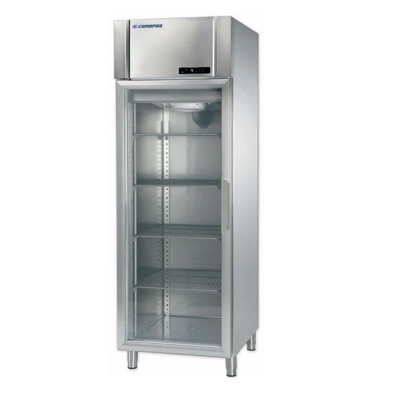 Armoire réfrigérée gn 2/1 température négative avec porte vitrée (photo)