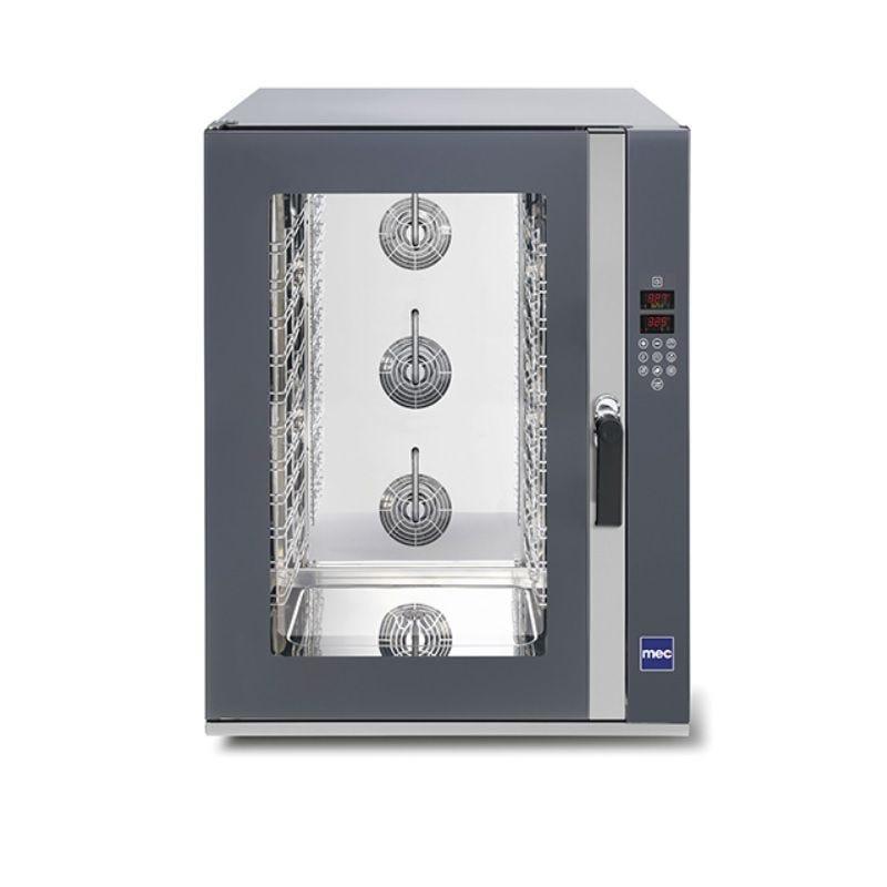 Four électrique vapeur 10 niveaux 600x400 mm porte latérale commandes digitales