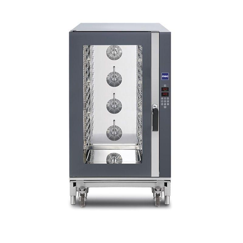 Four électrique vapeur 16 niveaux 600x400 mm porte latérale commandes digitales