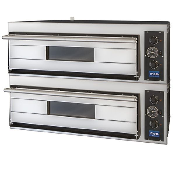 Four à pizzas électrique à deux chambres pour 8 pizzas de diamètre max 30 cm