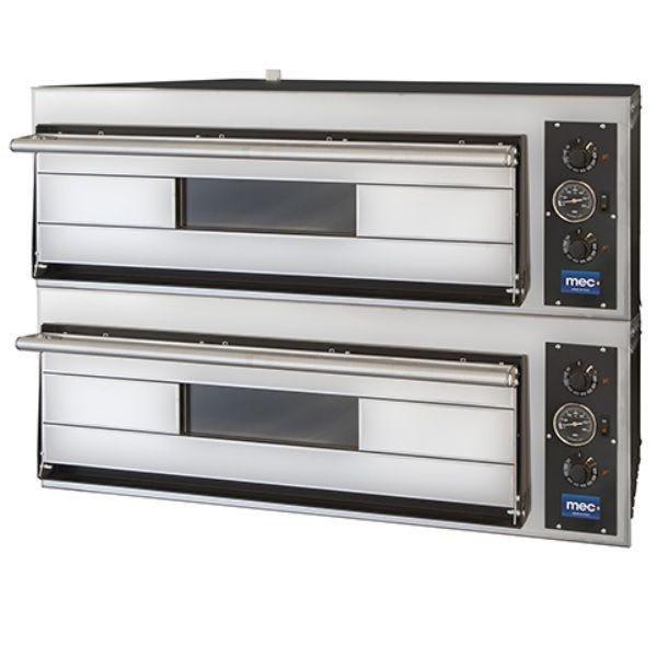 Four à pizzas électrique à deux chambres pour 12 pizzas de diamètre max 30 cm