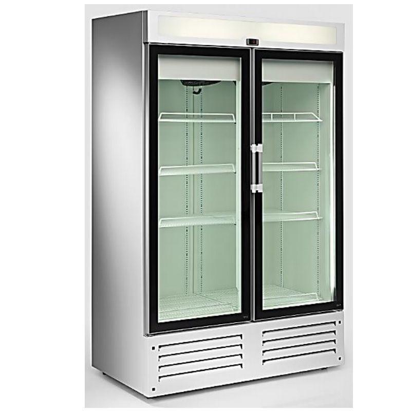 Vitrine réfrigérée 995 litres froid ventilé avec éclairage vertical double led (photo)