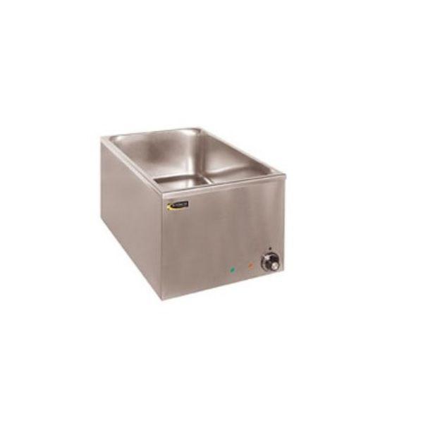 Bain-marie 1 cuve gn1/1 à poser sans robinet de vidange (photo)