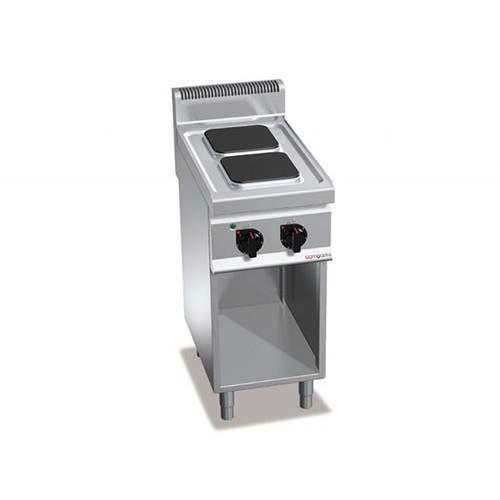 Cuisinière électrique 2 plaques rectangulaires (5,2 kw) (photo)