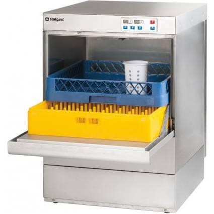 Lave-vaisselle panier 500 x 500 mm avec pompe de vidange intégrée