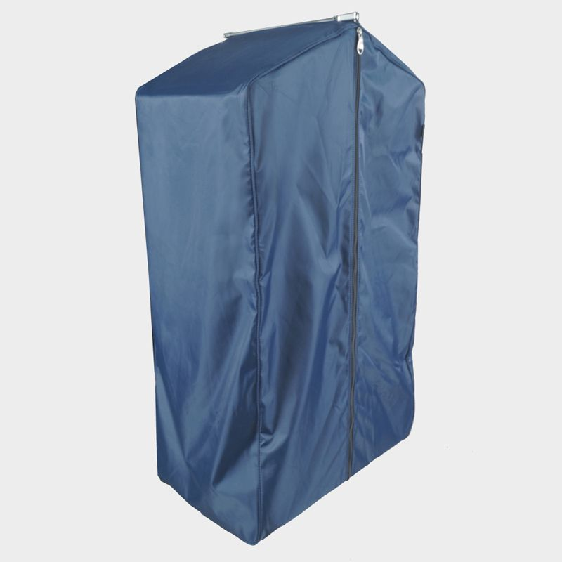 Housse à mâchoire bleue ouverture centrale hauteur 100 cm (photo)