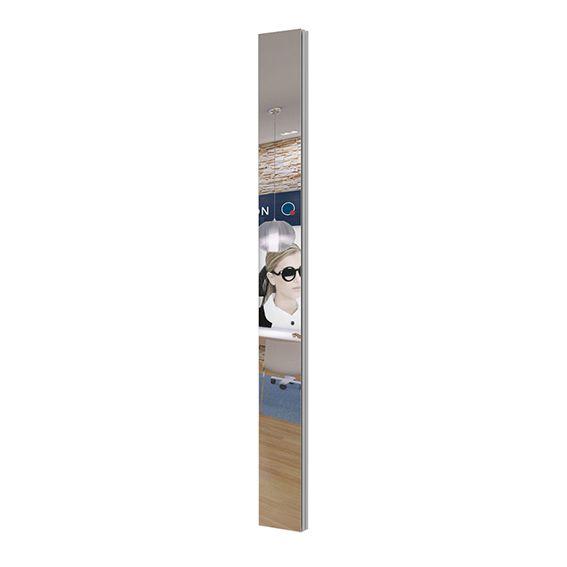 Miroir mural hauteur 200 cm et largeur 20 cm PRESENTA NOVA