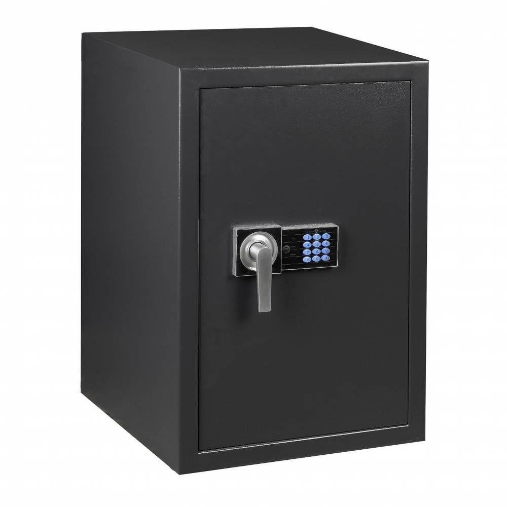 Coffre fort de sécurité serrure électronique avec clés de secours 164 litres (photo)