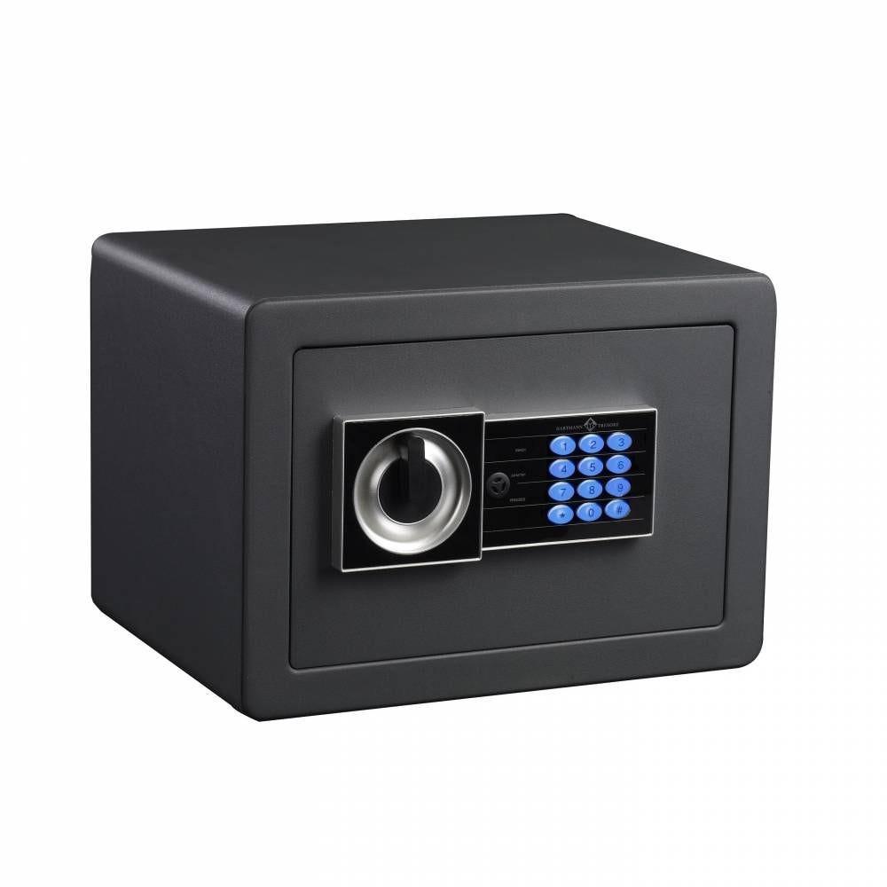 Coffre fort de sécurité serrure électronique avec clés de secours 18 litres (photo)
