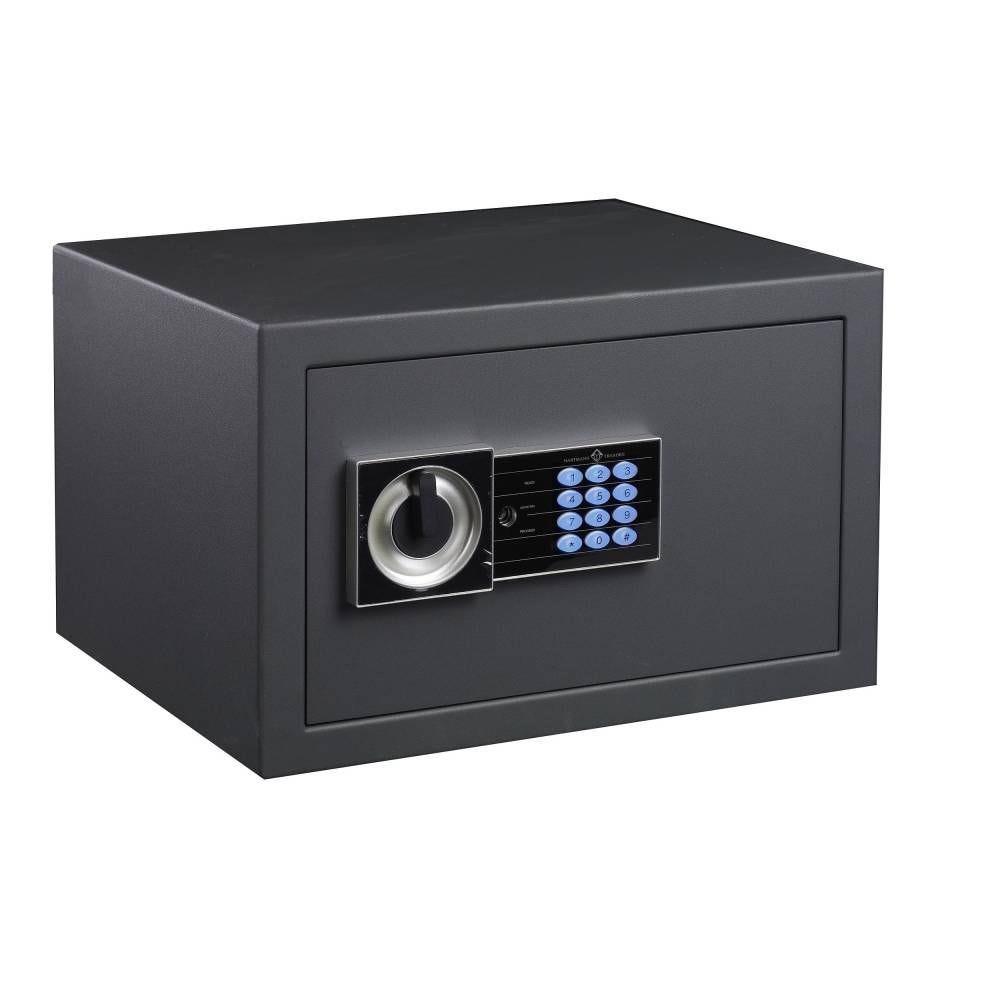 Coffre fort de sécurité serrure électronique avec clés de secours 34 litres (photo)