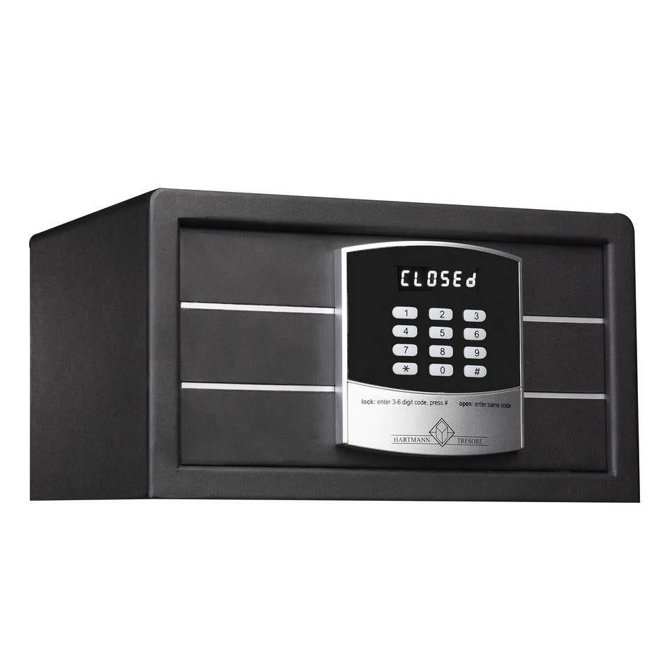 Coffre fort hôtel 12 litres serrure électronique + clés de secours (photo)