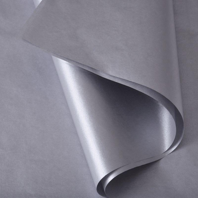 Papier de soie 50x75 cm - coloris argent - 200 feuilles