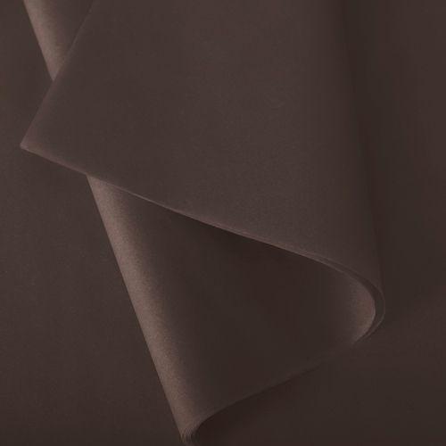 Papier de soie 50x75 cm - coloris brun - 240 feuilles - par 3