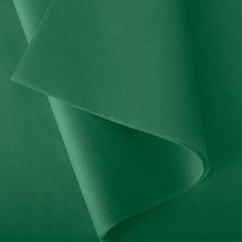 Papier de soie 50x75 cm - coloris vert jade - 240 feuilles