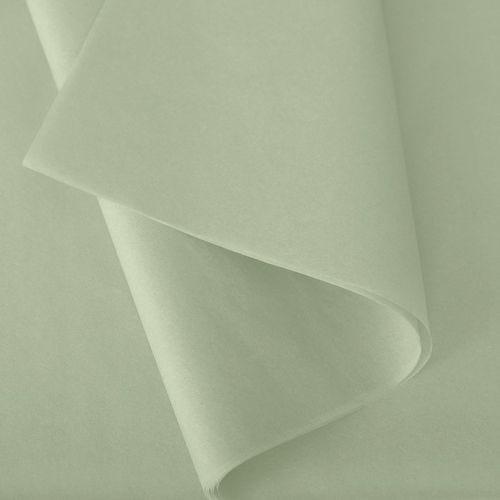 Papier de soie 50x75 cm - coloris vert amande - 240 feuilles
