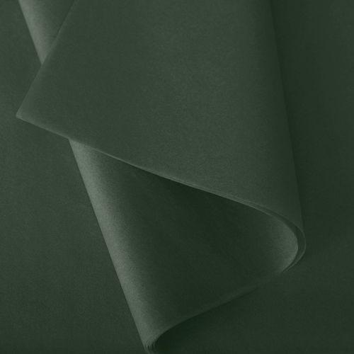 Papier de soie 50x75 cm - coloris vert bouteille - 240 feuilles - par 3
