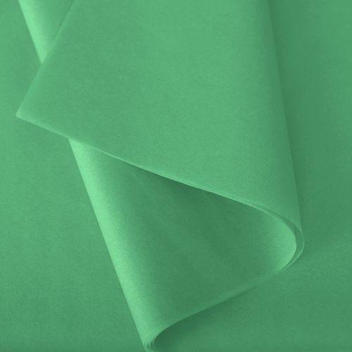 Papier de soie 50x75 cm - coloris vert prairie - 240 feuilles - par 3