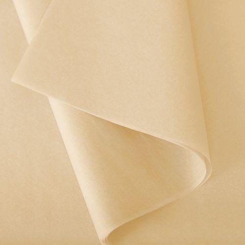 Papier de soie 50x75 cm - coloris vanille - 240 feuilles - par 3