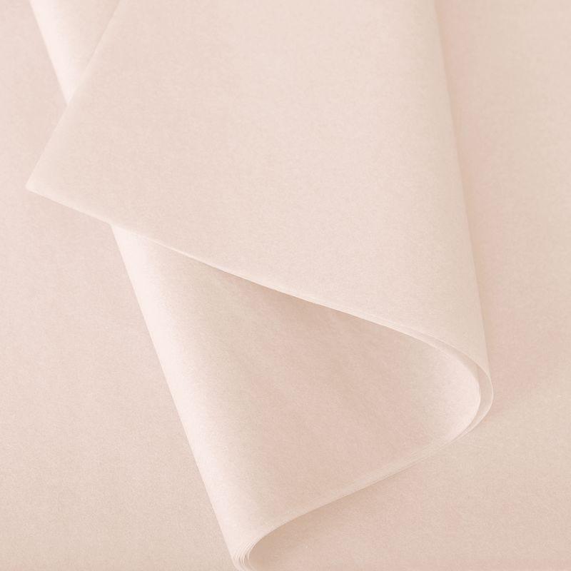 Papier de soie 50x75 cm - coloris champagne - 240 feuilles - par 2